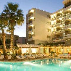 Отель Plaza Греция, Родос - отзывы, цены и фото номеров - забронировать отель Plaza онлайн бассейн фото 3