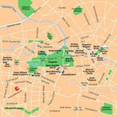 Centro Hotel Berlin City West Берлин городской автобус