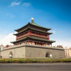 Отель Jindi Holiday Hotel Китай, Сиань - отзывы, цены и фото номеров - забронировать отель Jindi Holiday Hotel онлайн вид на фасад