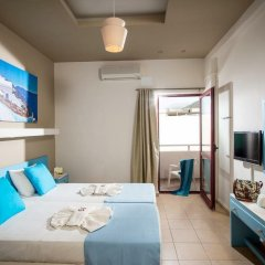 Отель Stalis Blue Sea Front Deluxe Rooms комната для гостей фото 2