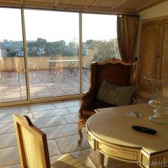Отель Chateau Le Cagnard Кань-сюр-Мер комната для гостей фото 2