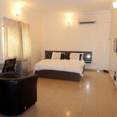 Nordic Residence Hotel Abuja комната для гостей