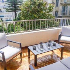 Отель Le Clos tranquille Ницца балкон