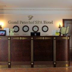 Гранд Петергоф СПА Отель интерьер отеля