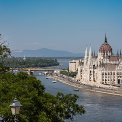 Mercure Budapest Korona Hotel Будапешт приотельная территория