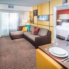 Отель Residence Inn by Marriott Columbus Polaris комната для гостей