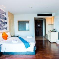 Отель Sea Breeze Jomtien Resort комната для гостей фото 9