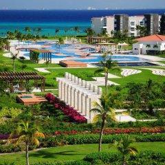 Отель Mareazul Family Beach Condohotel Плая-дель-Кармен пляж
