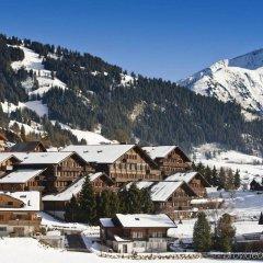 Отель HUUS Gstaad Швейцария, Занен - отзывы, цены и фото номеров - забронировать отель HUUS Gstaad онлайн спортивное сооружение