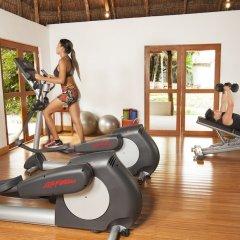 Отель Mahekal Beach Resort фитнесс-зал фото 2