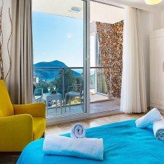 Villa Tizia by Akdenizvillam Турция, Калкан - отзывы, цены и фото номеров - забронировать отель Villa Tizia by Akdenizvillam онлайн комната для гостей фото 5
