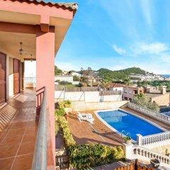Отель Villa Maer Бланес балкон