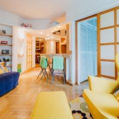 Апартаменты Heart of Warsaw II apartment комната для гостей фото 4