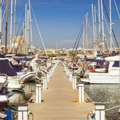 Отель Great Marina-view Nautical JR Suite IN Cabo Золотая зона Марина пляж