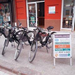 Отель Valencia City Host парковка
