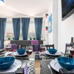 Отель Little Home - Violet Польша, Варшава - отзывы, цены и фото номеров - забронировать отель Little Home - Violet онлайн комната для гостей фото 2