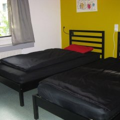 Budget Hostel Zurich комната для гостей