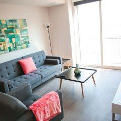 Отель Upscale Apartment in Downtown LA США, Лос-Анджелес - отзывы, цены и фото номеров - забронировать отель Upscale Apartment in Downtown LA онлайн комната для гостей фото 5