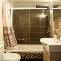 Апартаменты Gold and Blue Luxurious Apartment ванная