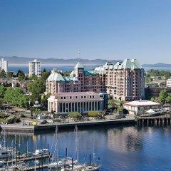 Отель Grand Pacific Канада, Виктория - отзывы, цены и фото номеров - забронировать отель Grand Pacific онлайн приотельная территория фото 2