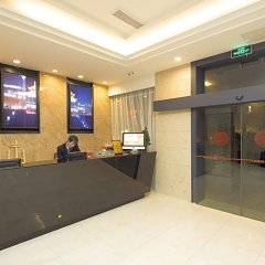 Warmly Boutique Hotel Suzhou Jinji Lake Ligongdi Branch интерьер отеля