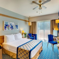 Отель La Blanche Island Bodrum - All Inclusive комната для гостей