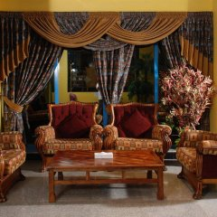 Отель Al Bustan Hotel Flats ОАЭ, Шарджа - отзывы, цены и фото номеров - забронировать отель Al Bustan Hotel Flats онлайн интерьер отеля фото 2