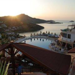 Family Belvedere Hotel Турция, Мугла - отзывы, цены и фото номеров - забронировать отель Family Belvedere Hotel онлайн пляж фото 2
