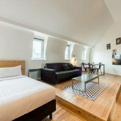 Отель Smartflats City - Grand Sablon Брюссель комната для гостей фото 4