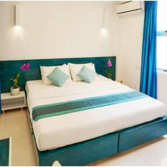 Бутик-отель Planktons Beach Мале комната для гостей фото 5