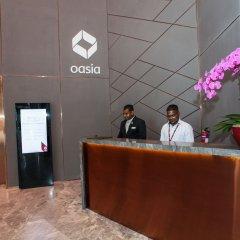 Oasia Hotel Downtown Singapore интерьер отеля фото 3