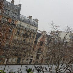 Отель Champerret Elysees Париж балкон