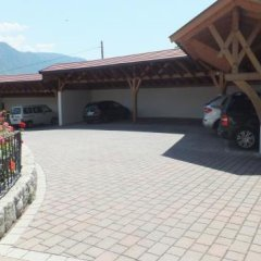 Отель Pension Golser Чермес парковка