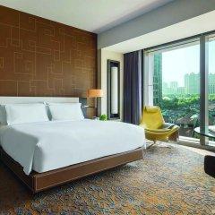 Отель Langham Xintiandi Шанхай комната для гостей фото 5