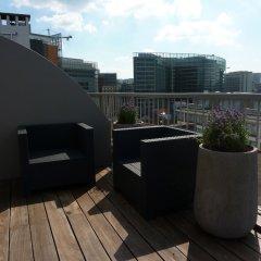 Отель New Hotel Charlemagne Бельгия, Брюссель - отзывы, цены и фото номеров - забронировать отель New Hotel Charlemagne онлайн балкон