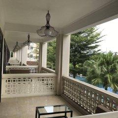Отель Thanh Binh Riverside Hoi An Вьетнам, Хойан - отзывы, цены и фото номеров - забронировать отель Thanh Binh Riverside Hoi An онлайн балкон