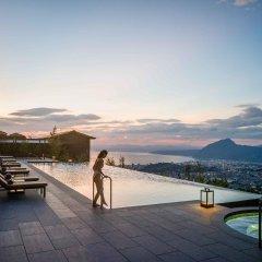 Отель Intercontinental - Ana Beppu Resort & Spa Беппу приотельная территория