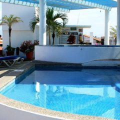 Отель Suites Plaza Del Rio Пуэрто-Вальярта бассейн фото 3