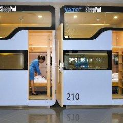 Отель VATC SleepPod Terminal 2 городской автобус