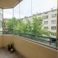 Отель P&O Apartments Powisle Польша, Варшава - отзывы, цены и фото номеров - забронировать отель P&O Apartments Powisle онлайн балкон