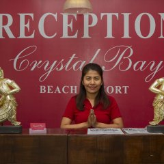 Отель Crystal Bay Beach Resort интерьер отеля