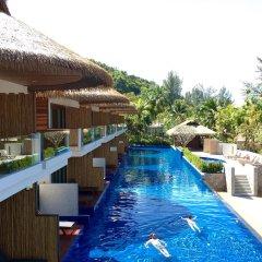 Отель Tup Kaek Sunset Beach Resort бассейн