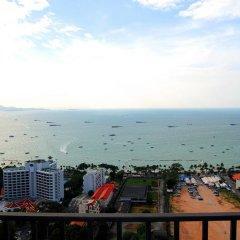 Отель Centric Sea Pattaya by UPlus Паттайя балкон
