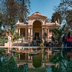 Отель Ashoka Непал, Катманду - отзывы, цены и фото номеров - забронировать отель Ashoka онлайн приотельная территория