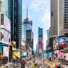 Отель Crowne Plaza Times Square Manhattan США, Нью-Йорк - отзывы, цены и фото номеров - забронировать отель Crowne Plaza Times Square Manhattan онлайн приотельная территория