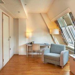 Отель Cumulus Hakaniemi 3* Стандартный семейный номер с двуспальной кроватью фото 8