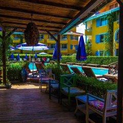 Отель Blue Orange Beach Resort гостиничный бар