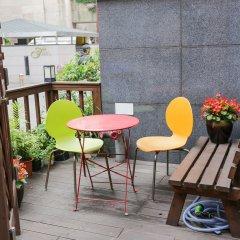 Отель Jongnowon Hostel Южная Корея, Сеул - 1 отзыв об отеле, цены и фото номеров - забронировать отель Jongnowon Hostel онлайн балкон