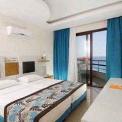 Kleopatra Ada Beach Hotel комната для гостей фото 2