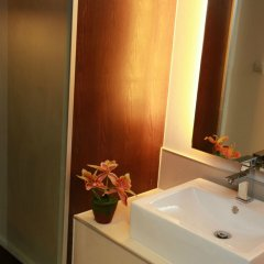Отель The Bangkok Airport Link Suite ванная